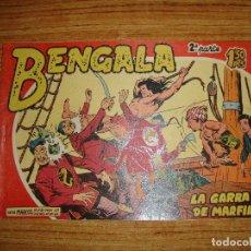 Tebeos: BENGALA 2 PARTE EDITORIAL MAGA ORIGINAL Nº II - 3. Lote 143775426