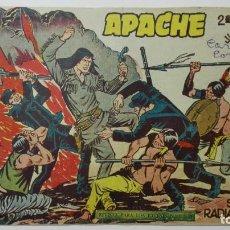 Tebeos: APACHE Nº 29, EDITORIAL MAGA, AÑO 1958, ORIGINAL. Lote 144348594