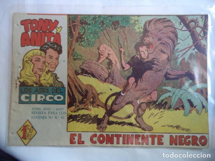 TONY Y ANITA Nº 18 EL CONTINENTE NEGRO (Tebeos y Comics - Maga - Tony y Anita)