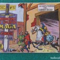 Tebeos: CORAZA DE CASTILLA Nº 31 EDITORIAL MAGA. Lote 144904766