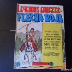 Tebeos: FLECHA ROJA REVISTA Nº 25 EDITORIAL MAGA . Lote 145307390