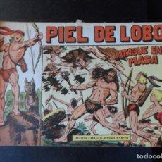 Tebeos: PIEL DE LOBO Nº 13 EDITORIAL MAGA ORIGINAL. Lote 145312394