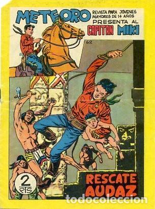 CAPITAN MIKI Nº 62 (Tebeos y Comics - Maga - Otros)