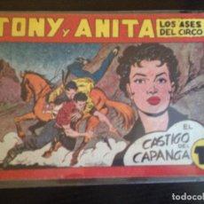 Tebeos: Nº107 EL CASTIGO DECAPANGA. Lote 145500586