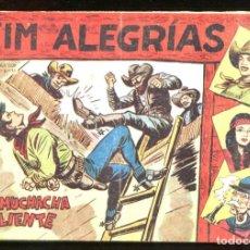 Tebeos: JIM ALEGRÍAS - MAGA 58. Lote 146075290