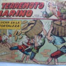 Tebeos: EL TERREMOTO MARINO Nº 47. Lote 146502486