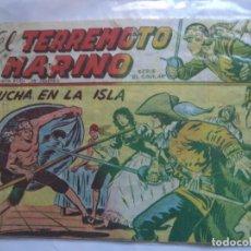 Tebeos: EL TERREMOTO MARINO Nº 31. Lote 146502978