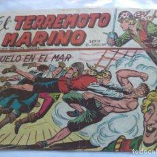 Tebeos: EL TERREMOTO MARINO Nº25. Lote 146503478