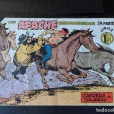 Tebeos: APACHE Nº 62 - ORIGINAL- EDITORIAL MAGA 1955. Lote 146562306