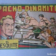 Tebeos: PACHO DINAMITA (1951, MAGA) 20 · 17-IX-1952 · EL DESQUITE. Lote 146657122