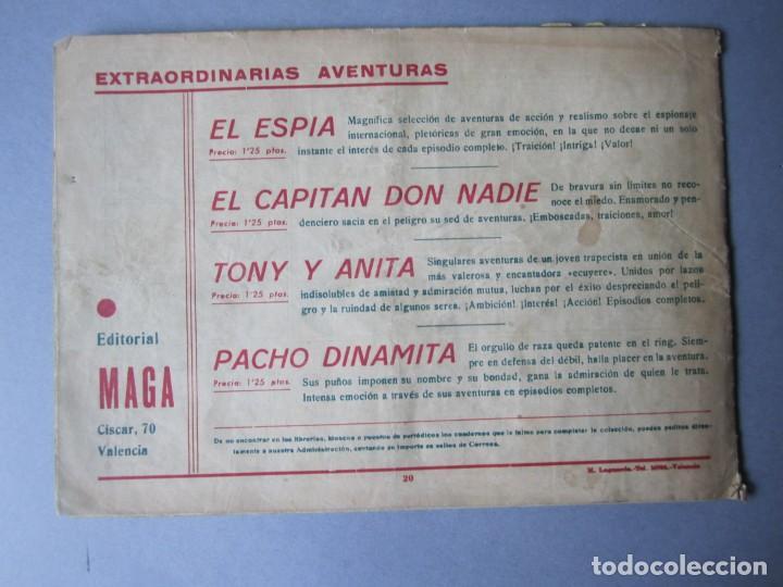 Tebeos: PACHO DINAMITA (1951, MAGA) 20 · 17-IX-1952 · EL DESQUITE - Foto 2 - 146657122