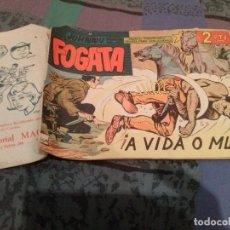 Tebeos: JOHNNY FOGATA - Nº32 - A VIDA O MUERTE - MAGA - ORIGINAL . Lote 147187914