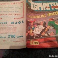 Tebeos: EL ESPIRITU DE LA SELVA Nº 77 - LA GUARIDA DEL DRAGON- ORIGINAL. Lote 147190586