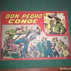 Tebeos: DON PEDRO CONDE Nº 1. MANUEL GAGO Y EDIT. MAGA BUEN ESTADO -- ORIGINAL. Lote 147305602