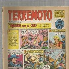 Tebeos: TERREMOTO ORIGINAL Nº 11. Lote 147511246