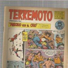 Tebeos: TERREMOTO ORIGINAL Nº 10. Lote 147511446