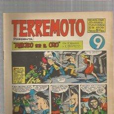 Tebeos: TERREMOTO ORIGINAL Nº 9. Lote 147511694