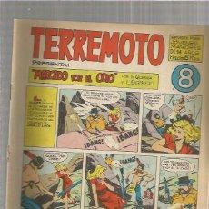 Tebeos: TERREMOTO ORIGINAL Nº 8. Lote 147511994