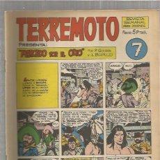 Tebeos: TERREMOTO ORIGINAL Nº 7. Lote 147512198