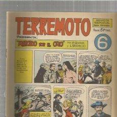 Tebeos: TERREMOTO ORIGINAL Nº 6. Lote 147512378