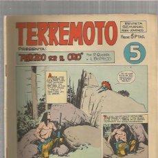 Tebeos: TERREMOTO ORIGINAL Nº 5. Lote 147512646