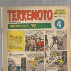 Tebeos: TERREMOTO ORIGINAL Nº 4. Lote 147512838