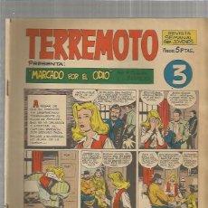 Tebeos: TERREMOTO ORIGINAL Nº 3. Lote 147513042