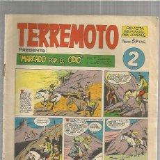Tebeos: TERREMOTO ORIGINAL Nº 2. Lote 147513198
