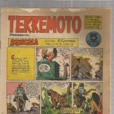 Tebeos: TERREMOTO ORIGINAL Nº 28. Lote 147513698