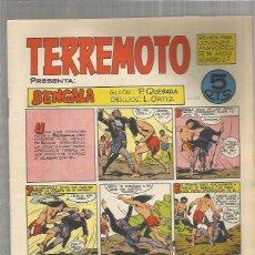 Tebeos: TERREMOTO ORIGINAL Nº 27. Lote 147513838