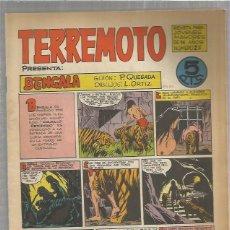 Tebeos: TERREMOTO ORIGINAL Nº 25. Lote 147516966