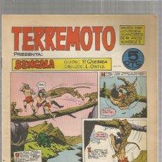 Tebeos: TERREMOTO ORIGINAL Nº 23. Lote 147517514