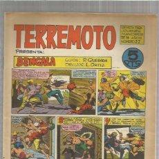 Tebeos: TERREMOTO ORIGINAL Nº 22. Lote 147517766