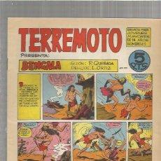 Tebeos: TERREMOTO ORIGINAL Nº 21. Lote 147517962