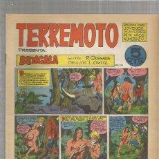 Tebeos: TERREMOTO ORIGINAL Nº 20. Lote 147518202