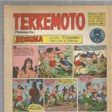 Tebeos: TERREMOTO ORIGINAL Nº 19. Lote 147518438