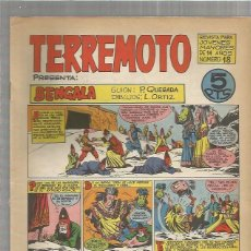 Tebeos: TERREMOTO ORIGINAL Nº 18. Lote 147518646