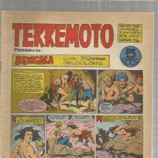 Tebeos: TERREMOTO ORIGINAL Nº 16. Lote 147518986