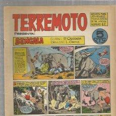 Tebeos: TERREMOTO ORIGINAL Nº 17. Lote 147519110