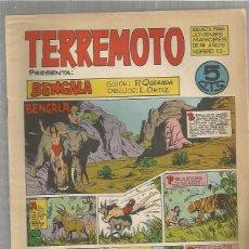 Tebeos: TERREMOTO ORIGINAL Nº 15. Lote 147519338