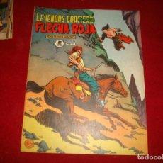 Tebeos: FLECHA ROJA Nº 55 EDITORIAL MAGA 1962 MUY BUEN ESTADO. Lote 147630406