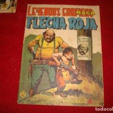 Tebeos: FLECHA ROJA Nº 32 EDITORIAL MAGA 1962. Lote 147630862