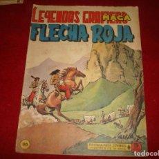 Tebeos: FLECHA ROJA Nº 30 EDITORIAL MAGA 1962. Lote 147634742