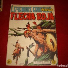 Tebeos: FLECHA ROJA Nº 34 EDITORIAL MAGA 1962. Lote 147635046