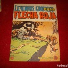 Tebeos: FLECHA ROJA Nº 38 EDITORIAL MAGA 1962. Lote 147635418
