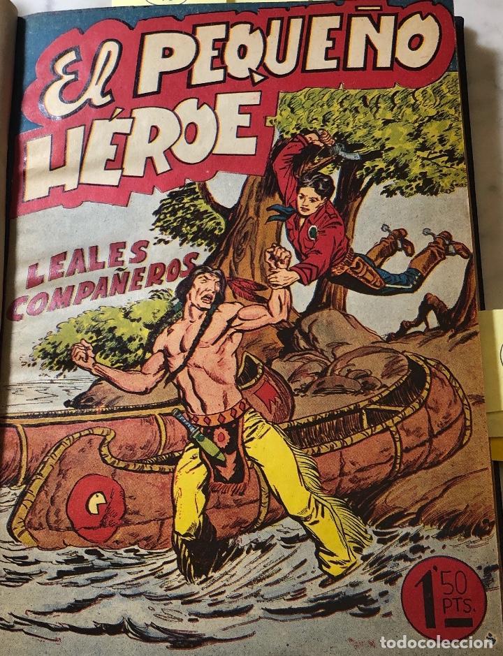 EL PEQUEÑO HEROE -AÑO1954-Nº11-LEALES COMPAÑEROS (20€) (Tebeos y Comics - Maga - Pequeño Héroe)