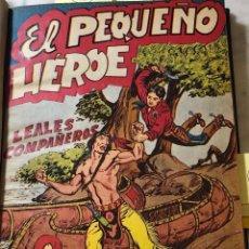 Tebeos: EL PEQUEÑO HEROE -AÑO1954-Nº11-LEALES COMPAÑEROS (20€). Lote 147700990