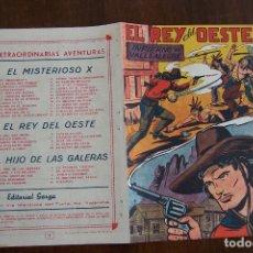 Tebeos: GARGA ,- EL REY DEL OESTE Nº 7. Lote 148214546