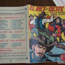 Tebeos: GARGA,- EL REY DEL OESTE Nº 10. Lote 148214922
