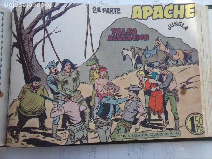 Tebeos: APACHE 2ª SERIE ORIGINAL COMPLETA 1 AL 76 - 1958 EXCELENTE ESTADO, VER IMAGENES - Foto 62 - 108097779